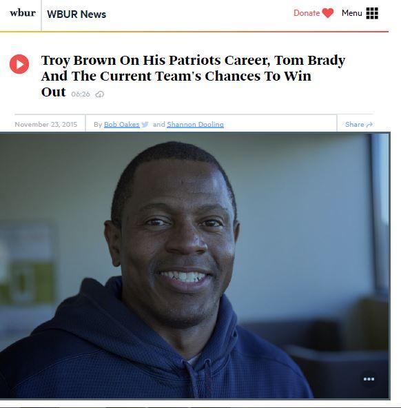 WBUR Story Screenshot
